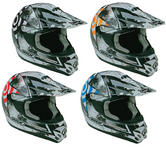View Item Box MX-5 Target Junior Motocross Helmet