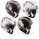 View Item Box JZ-1 Plain Motorcycle Helmet