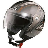 View Item Box JZ-1 Hotrod Motorcycle Helmet