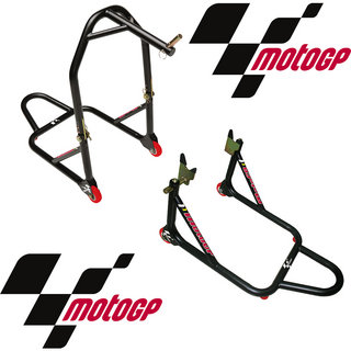 Moto GP Premium Head & Rear Stand Set