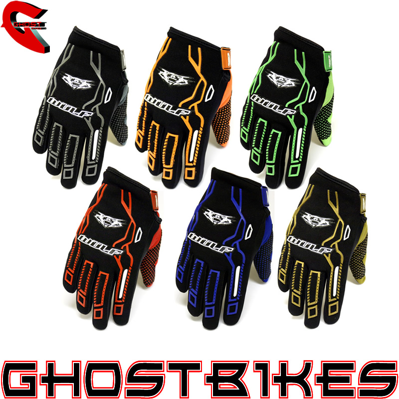 WULFSPORT FORCE TEN 10 MX OFF ROAD MTB MOUNTAINBIKE WULF MOTOCROSS GLOVES Enlarged Preview