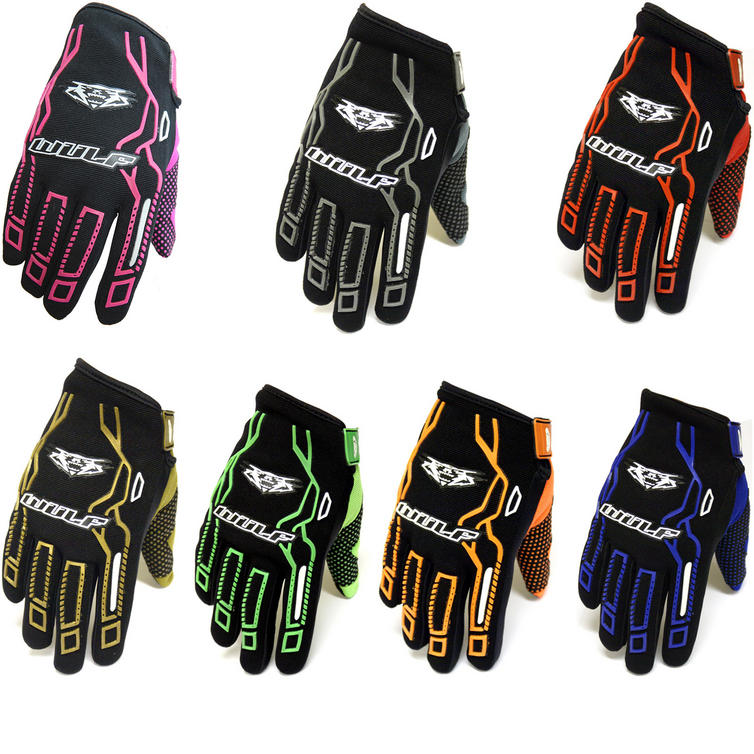 Image of Wulf Force 10 Motocross Gloves