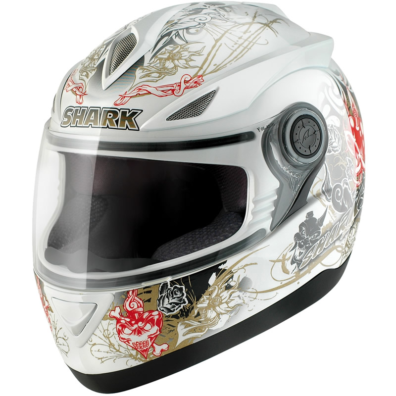 S500 AIR HELLBEL MOTORBIKE FULL FACE ACU GOLD MOTORCYCLE CRASH HELMET