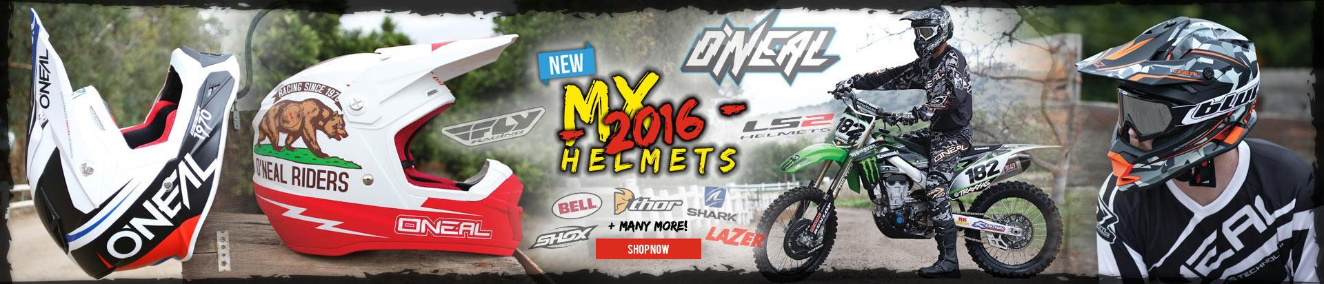 2016 Motocross Helmets