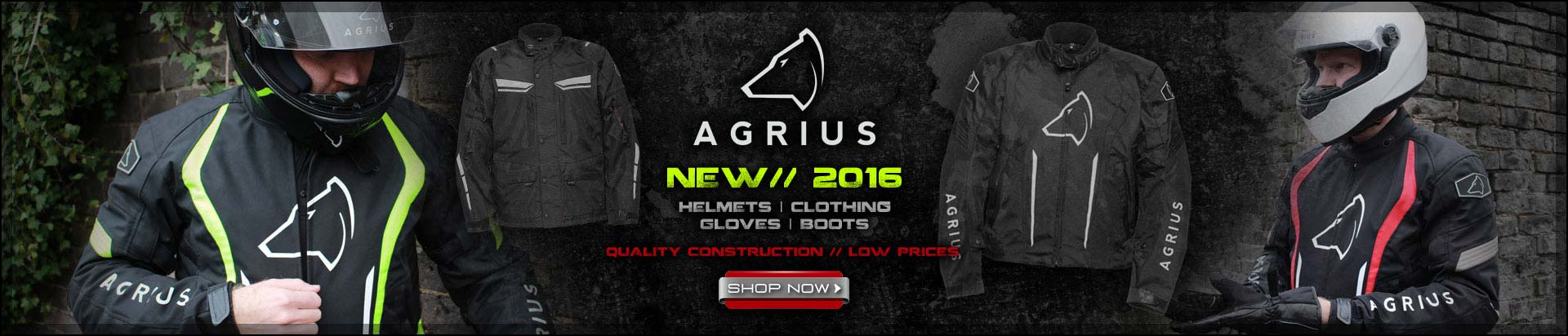 New Agrius Clothing