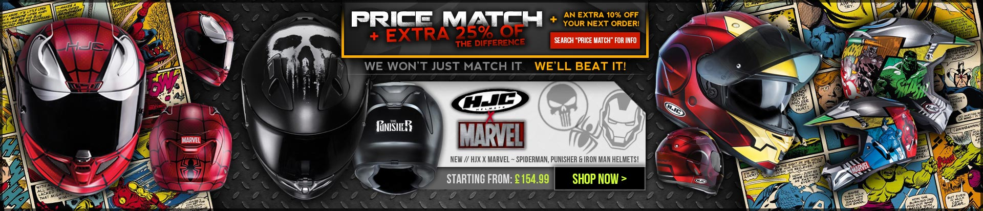 HJC Marvel