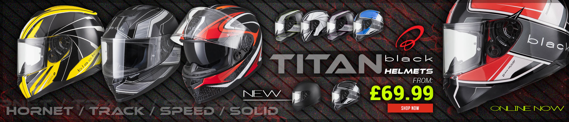 Black Titan Helmets