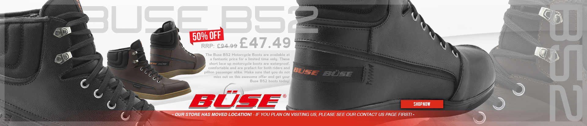 Buse B52 Boots