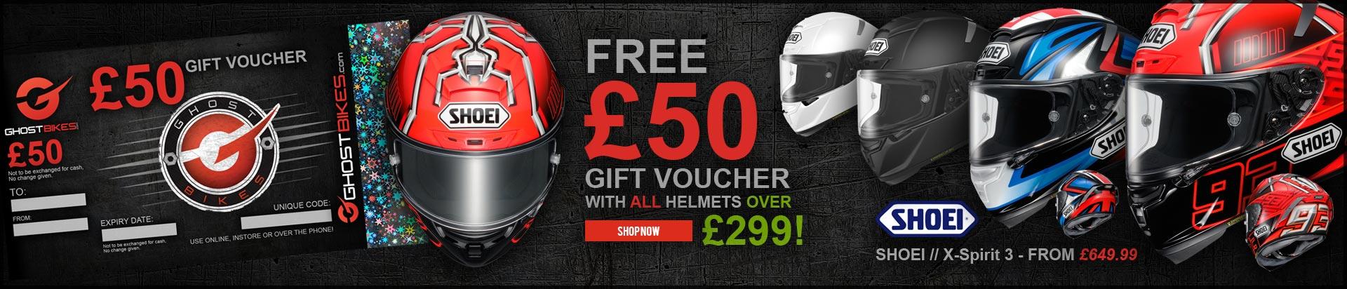 Free £50 Voucher