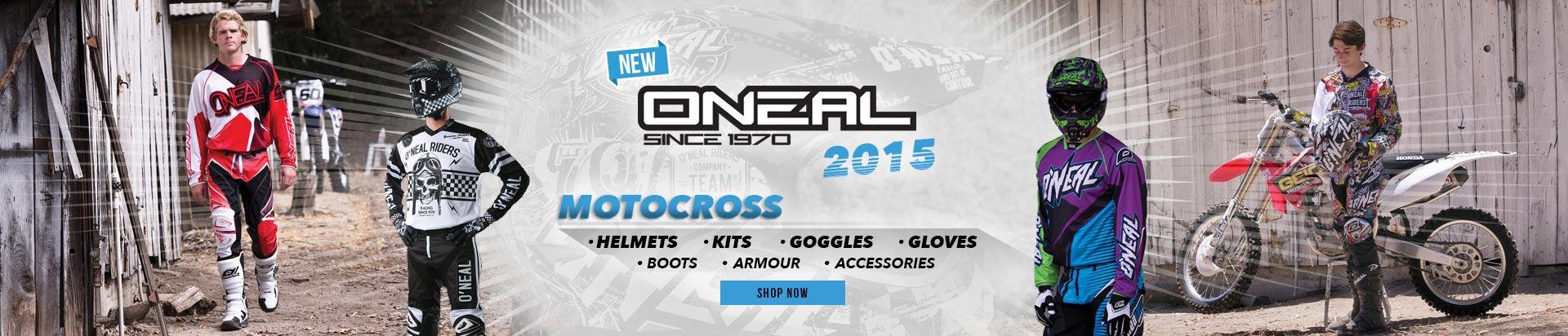 O'Neal 2015 Motocross Range