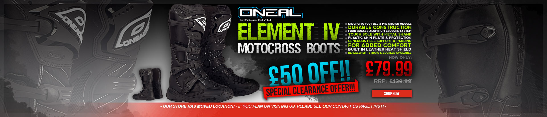 Oneal Element Boots