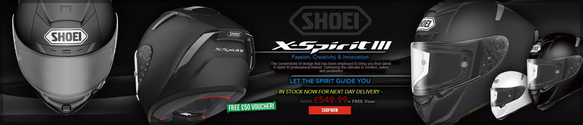 Shoei X-spirit 3 Helmets