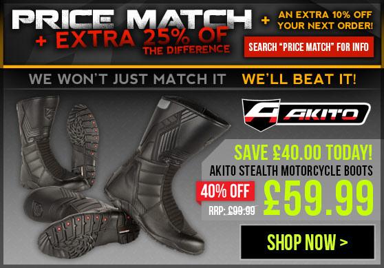 Akito Stealth Boots