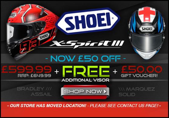Shoei X Spirit 3 Helmets