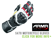 In the Spotlight - Armr Moto S470 Gloves