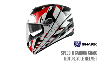 In the Spotlight - Shark Speed R Carbon Craig Motorcycle Helmet