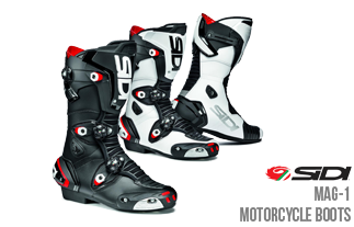 In the Spotlight - Sidi Mag-1 Motorcycle Boots