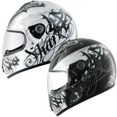 Shark S600 Dark Knight Motorcycle Helmet