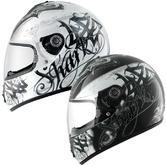 Shark S600 Dark Knight Motorcycle Helmet
