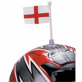England Helmet Flags