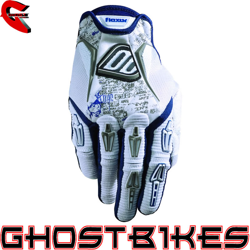 SHOT FLEXOR TAG MX ENDURO BMX MOTOCROSS GLOVES BLUE 3XL Enlarged Preview