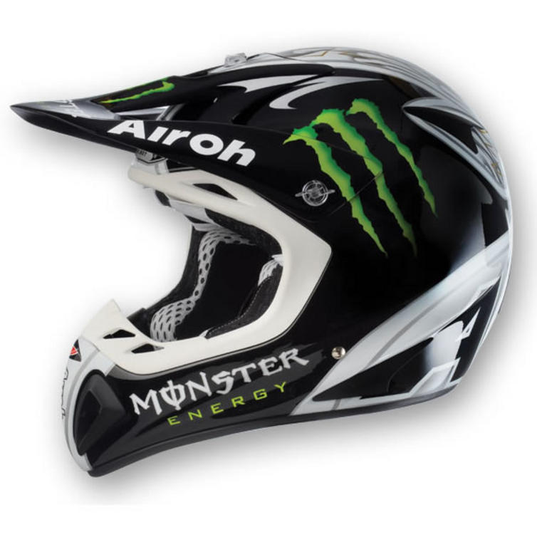 airoh stelt 2010 monster energy motocross helmet. Black Bedroom Furniture Sets. Home Design Ideas