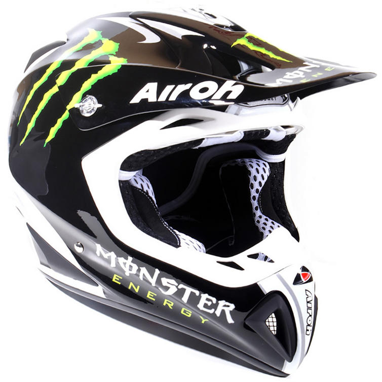 airoh stelt 2010 monster energy motocross helmet full. Black Bedroom Furniture Sets. Home Design Ideas