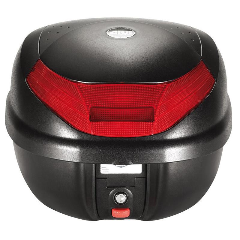 givi e30 tour monolock motorcycle top box case 30l e30n ebay. Black Bedroom Furniture Sets. Home Design Ideas