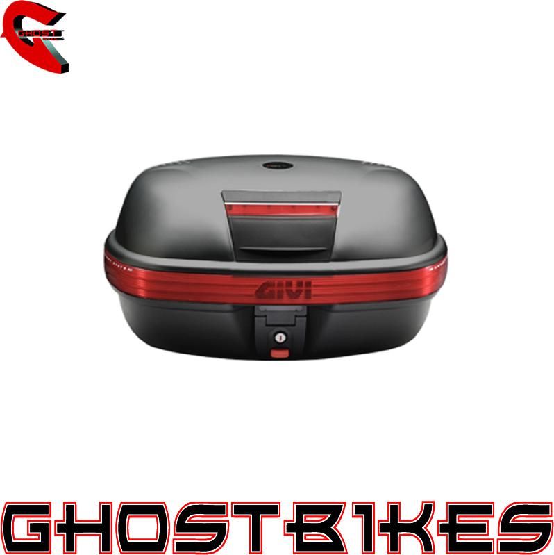 givi e460 monokey motorcycle top box case 46l e460n ghostbikes. Black Bedroom Furniture Sets. Home Design Ideas