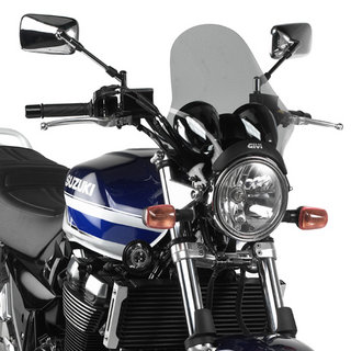 View Item Givi Universal Smoked Motorcycle Screen (A210)