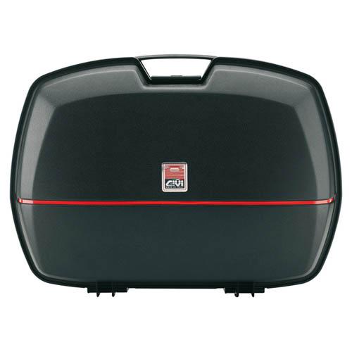 givi e45 economy monokey hard top box case 45l e45nj ebay. Black Bedroom Furniture Sets. Home Design Ideas