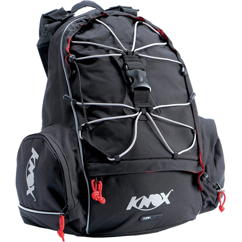 KNOX SIX PACK MOTORCYCLE HELMET BACKPACK RUCKSACK 25L | eBay