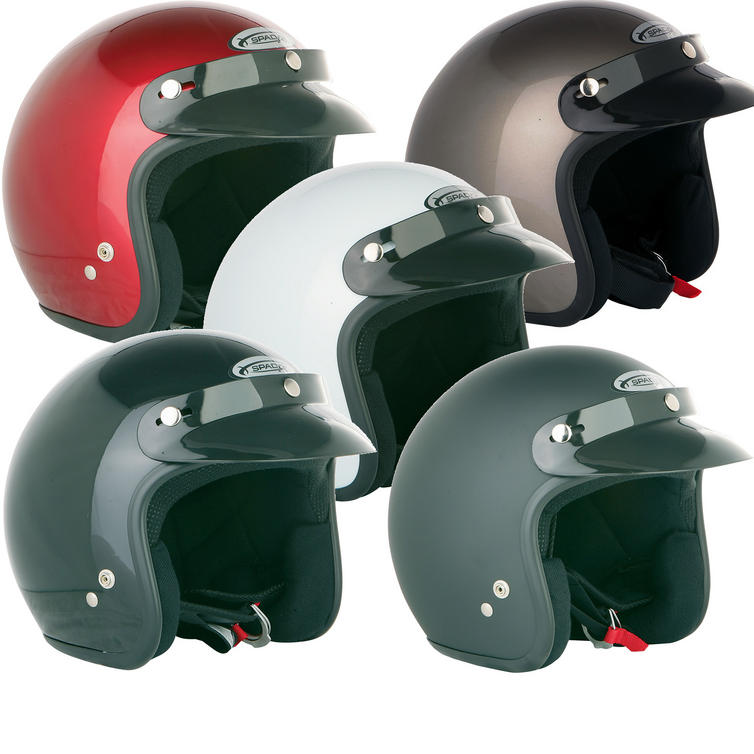 Spada Open Face Motorcycle Helmet