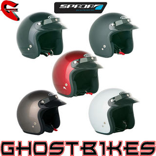 View Item Spada Open Face Motorcycle Helmet