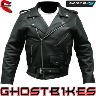 View Item Spada Classic Cruiser Leather Motorcycle Jacket