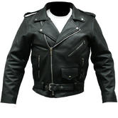 Spada Classic Cruiser Leather Motorcycle Jacket