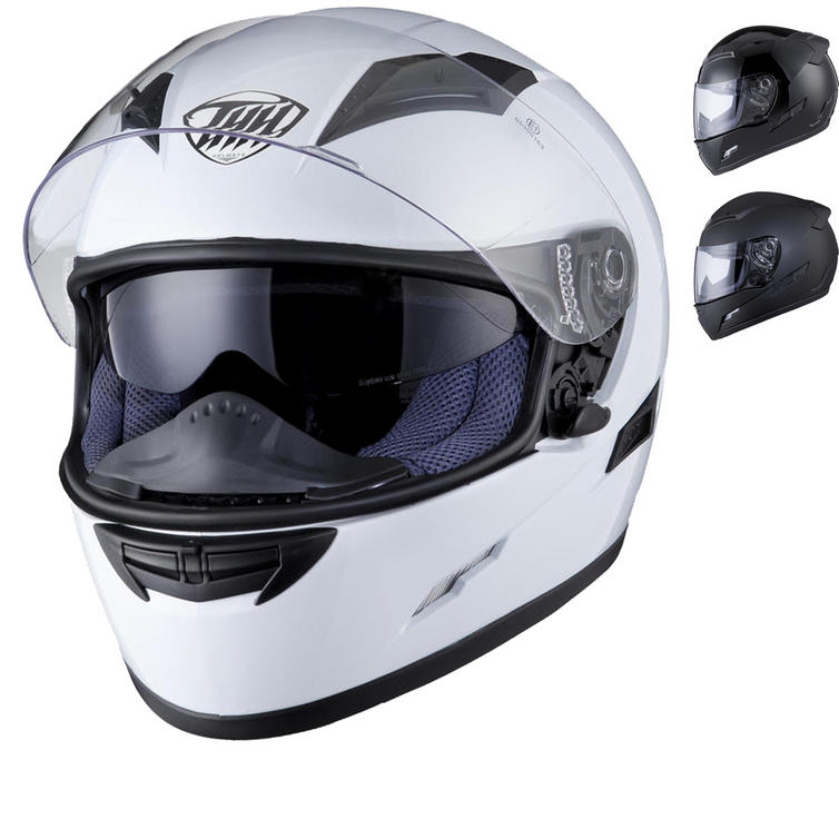 THH TS-80 Plain Full Face Helmet