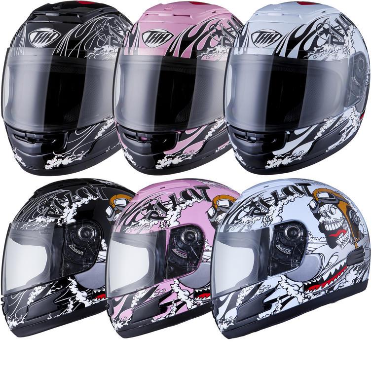 THH TS-31Y #7 Pilot Kids Full Face Helmet