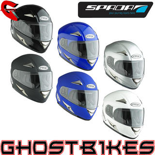 View Item Spada RP700 Plain Motorcycle Helmet