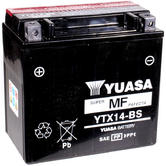 View Item Yuasa YTX14-BS Maintenance Free Battery (DMH14-12B)