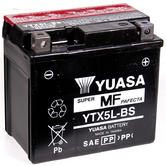 View Item Yuasa YTX5L-BS Maintenance Free Battery (DMH5L-12B)