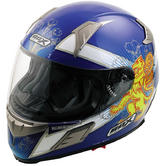 View Item Box BZ-1 Saltire Scotland Motorcycle Helmet