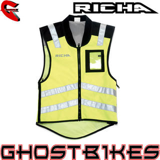 View Item Richa Sleeveless Safety Hi-Vis Jacket