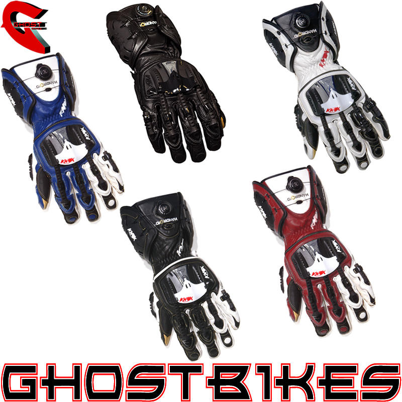 View Item Knox Handroid Motorcycle Gloves