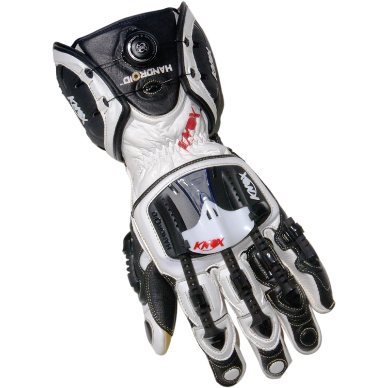 Sport Motorcycle Gloves: KNOX HANDROID ARMOUR MOTORBIKE MOTORCYCLE BOA ARMOURED