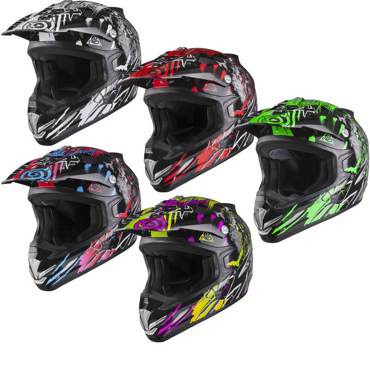 Shox MX-1 Nightmare Motocross Helmet