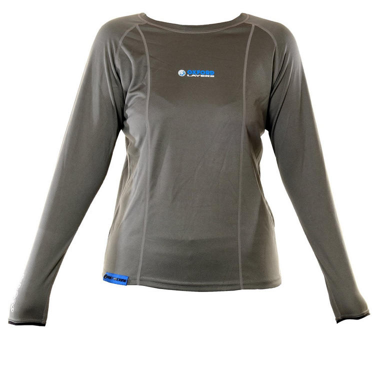 Oxford Layers Womens Long Sleeve Top