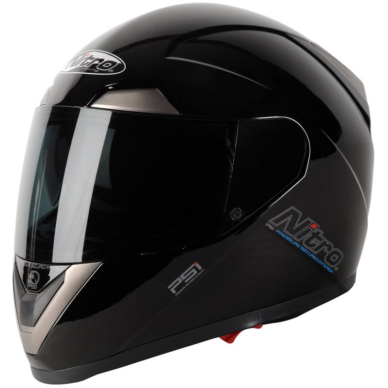 NITRO N-PSI PUMP MOTORBIKE MOTORCYCLE HELMET BLACK L | eBay