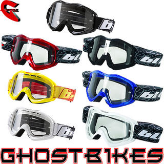 View Item Oneal Blur B1 Plain Motocross Goggles