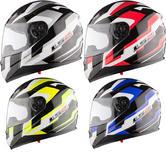 LS2 FF384.96 Spit Motorcycle Helmet